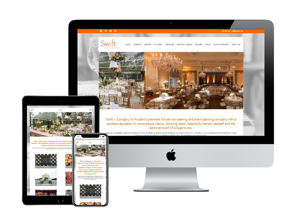 swift events small business website