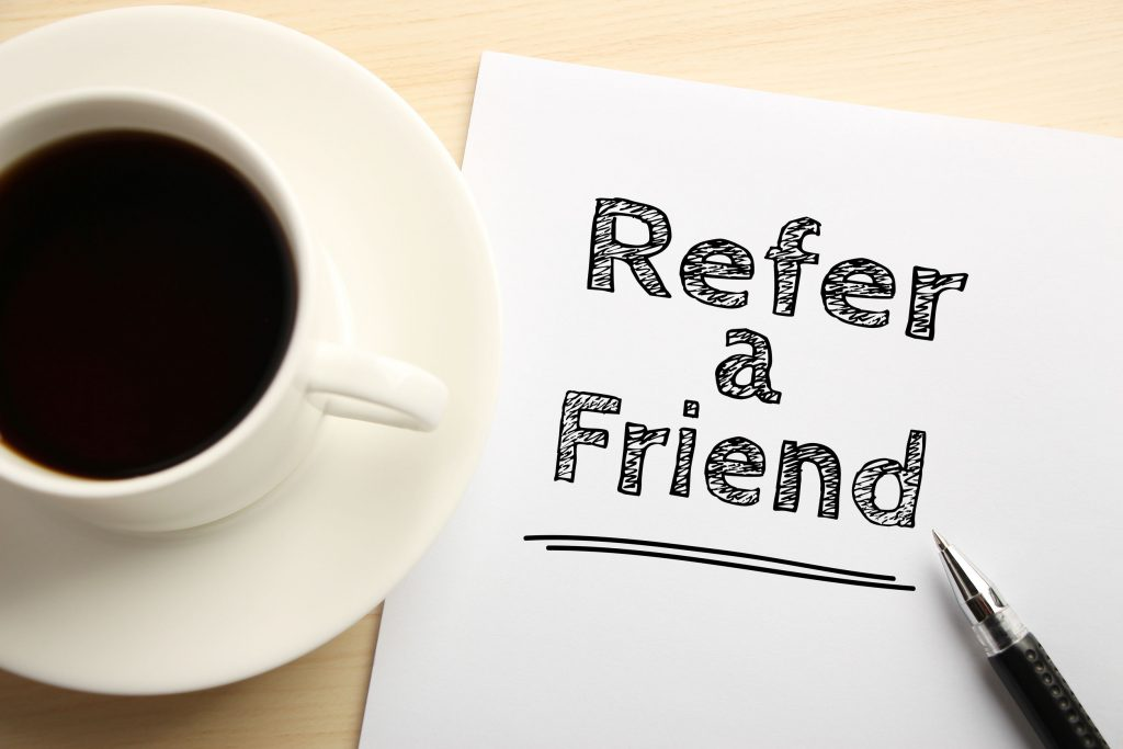 referral program refer a friend